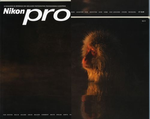 couverture du magazine Nikon pro