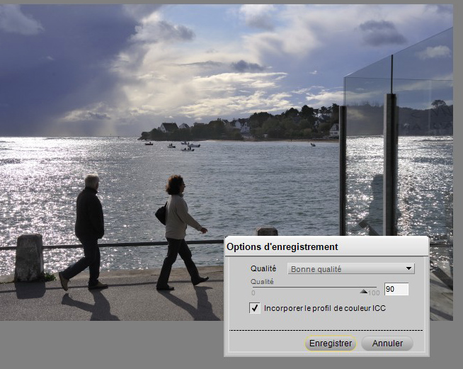 tutoriel comment redimensionner photo image avec nikon capture NX2