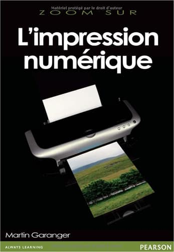 Couverture du livre Zoom sur l'impression numérique