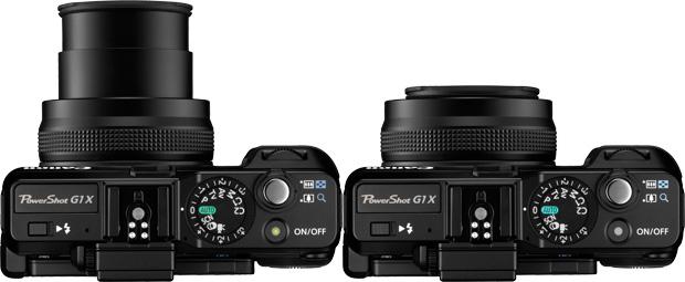 Nouveau Canon Powershot G1 X, 14Mp, un grand capteur et un zoom ... non interchangeable