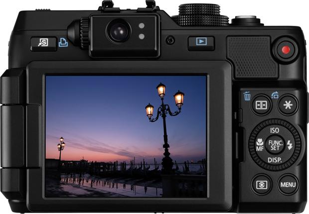 Nouveau canon powershot g1 x 14mp un grand capteur et un for Ecran appareil photo canon