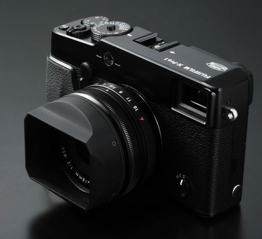 Fujifilm X-Pro 1, nouveau capteur APS-C et optiques interchangeables