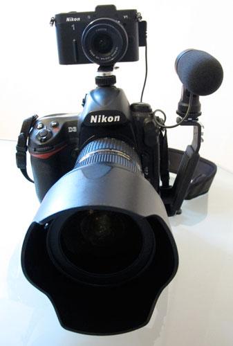 Nikon D3 et Nikon One V1 avec Julien Gérard Reporter Photographe