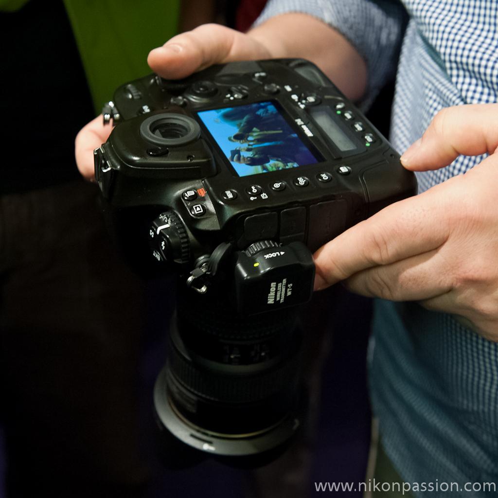 Des photos du Nikon D4