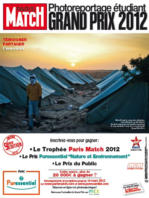 Paris Match // Grand Prix du Photoreportage Etudiant 2012