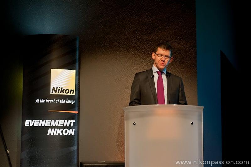 Benoît de Dieuleveult - DG Nikon France Imaging