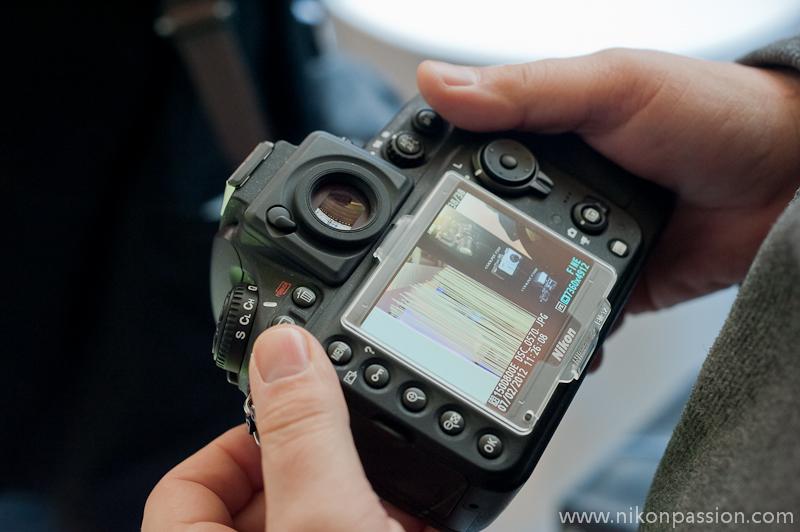 Des photos du Nikon D800 lors de la présentation à Paris