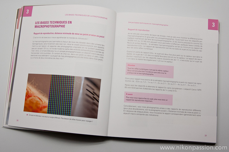extrait de Macrophotographie avec votre reflex numérique par Jérôme Geoffroy chez Dunod