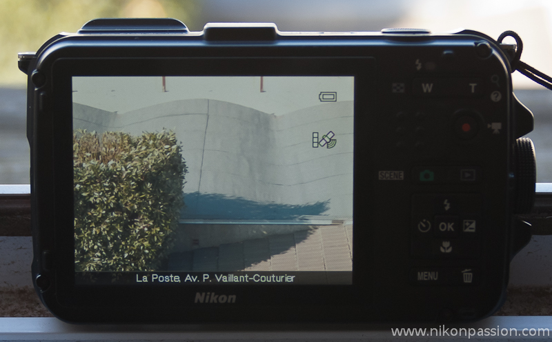 Test du Nikon Coolpix AW100