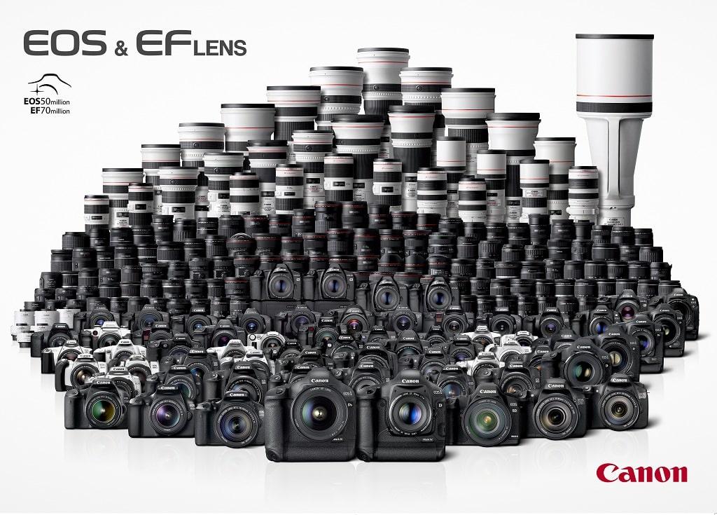 25 ans de système EOS, Happy Birthday Canon !