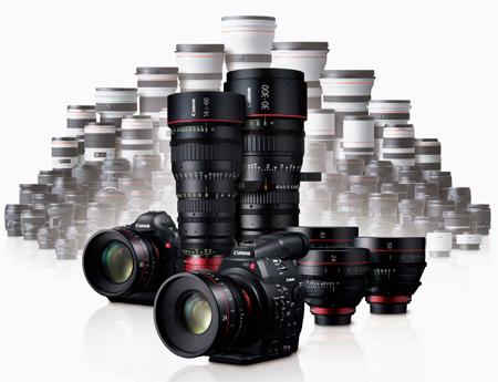 Système Canon EOS C300