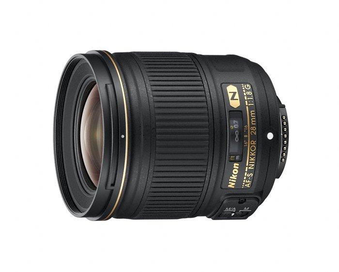 Nikon Nikkor AF-S 28 mm f/1,8G : format FX, 700 euros