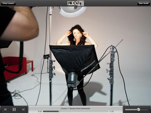 Une application iPad gratuite pour découvrir la photo en studio