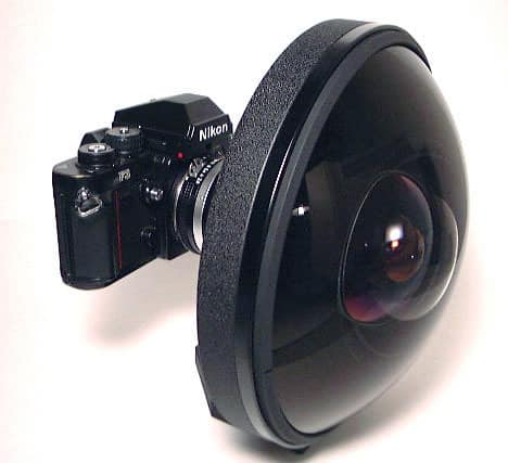 160.000 dollars pour un Nikon Nikkor 6mm FishEye !