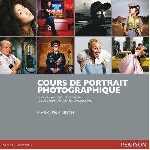 couverture du livre Cours de portrait photographique par Mark Jenkinson chez Pearson