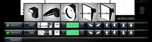 Virtual Lighting Studio: simulez le résultat de votre plan d'éclairage en studio
