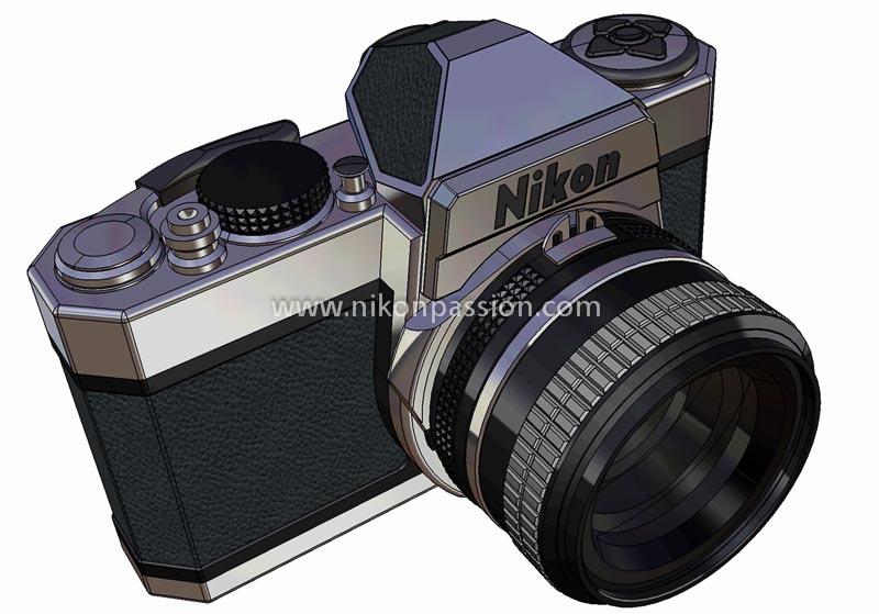 Nikon FTD vu de face
