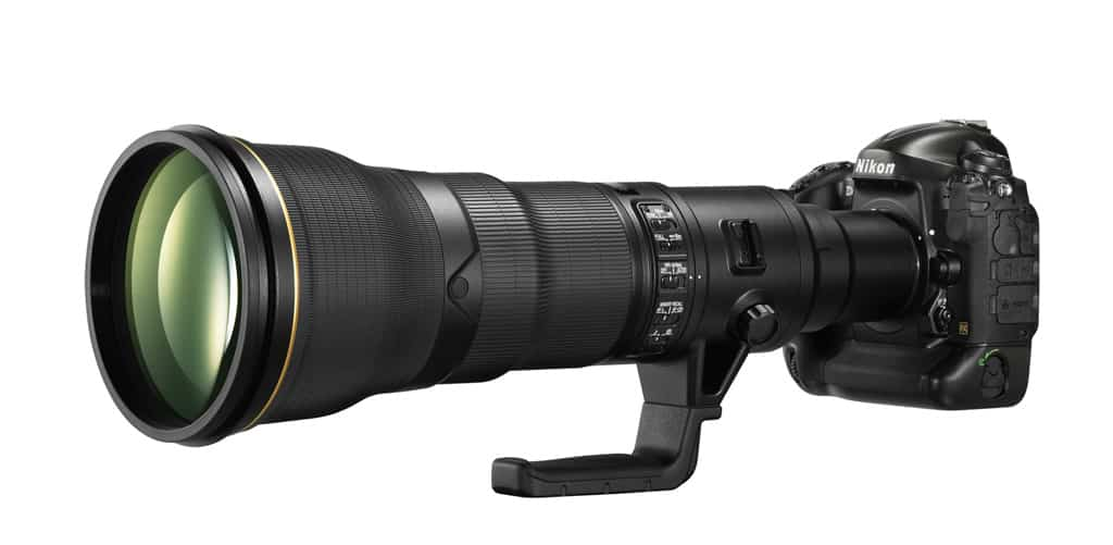 Nikon AF-S 800mm f/5.6, un super télé objectif FX à focale fixe