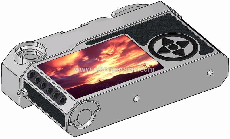 Nikon SD vu de dos