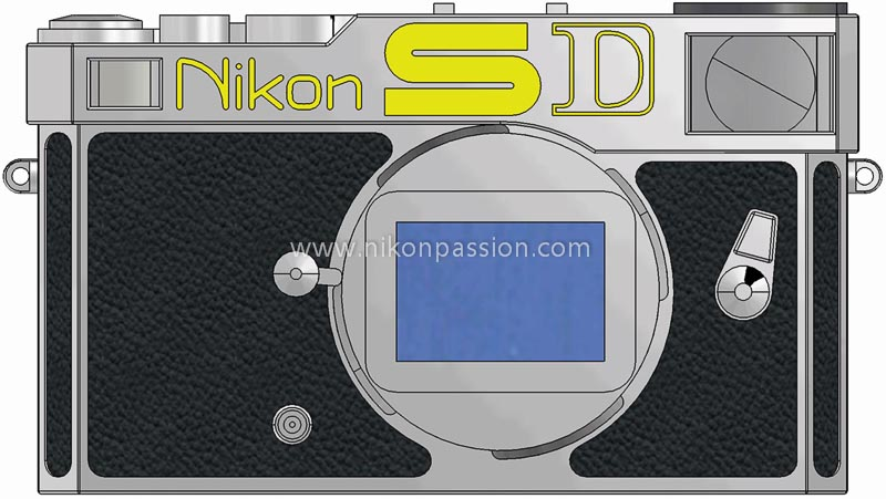 Nikon SD vu de face