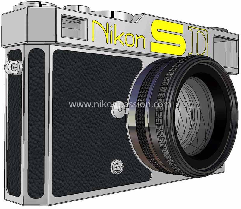 Nikon SD vu de profil gauche