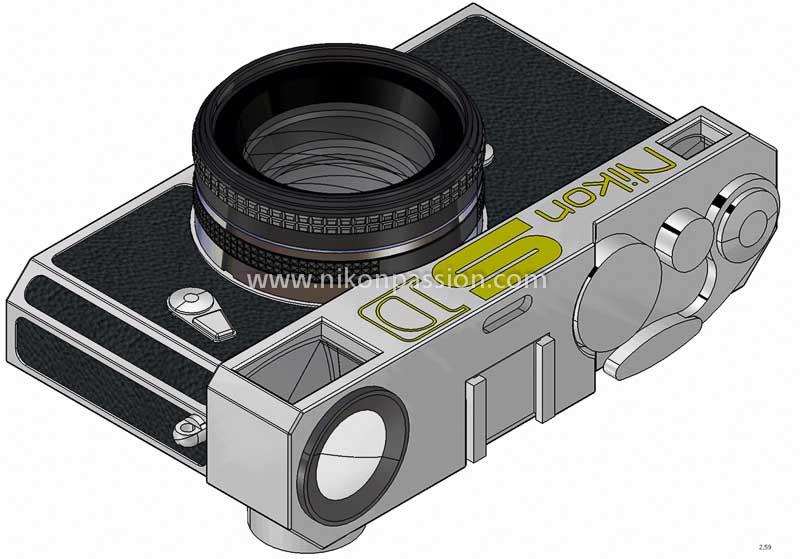 Nikon SD vu de dessus profil