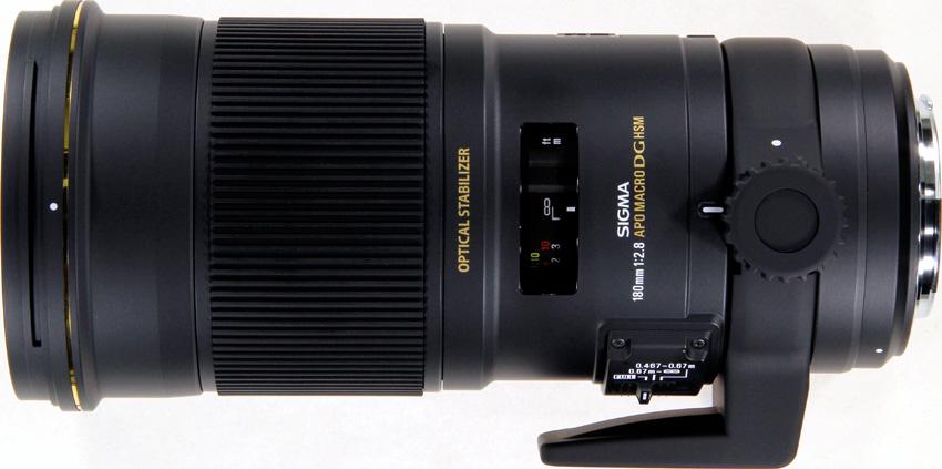 Sigma 180mm f/2.8 DG APO MACRO OS HSM EX