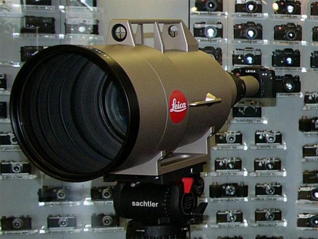 L'objectif le plus cher du monde est un Leica 1600mm