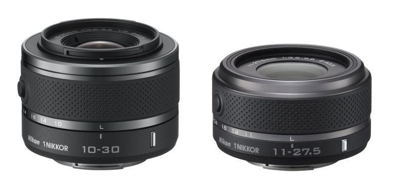 Nikon Nikkor CX optique objectif 10-30mm et 11-27,5mm