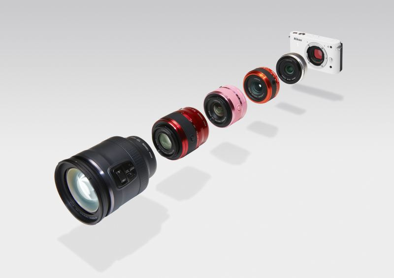 Nikon One 1 J1 et J2 : tous les objectifs de la gamme