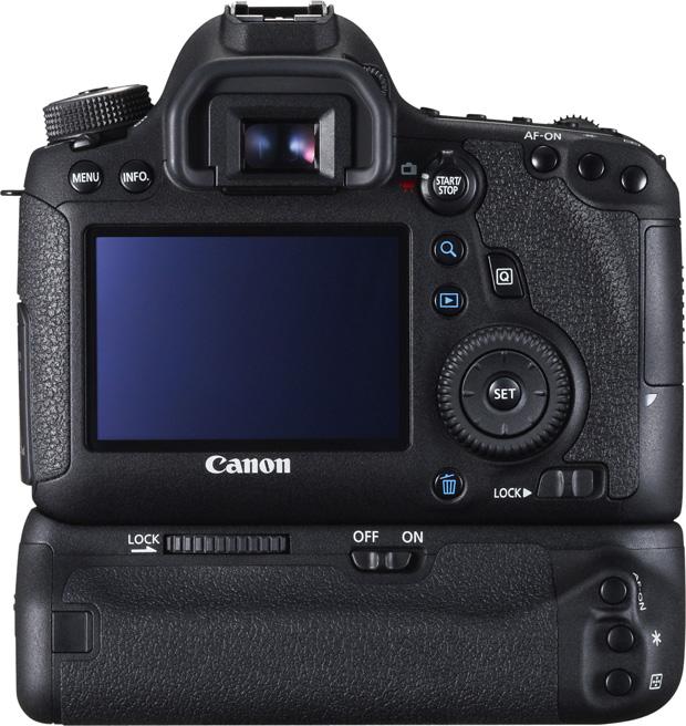 Canon EOS 6D vu de dos