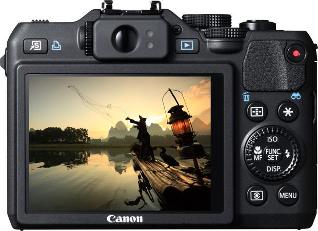 Canon Powershot G15 vu de dos