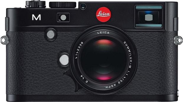 Leica M vu de face