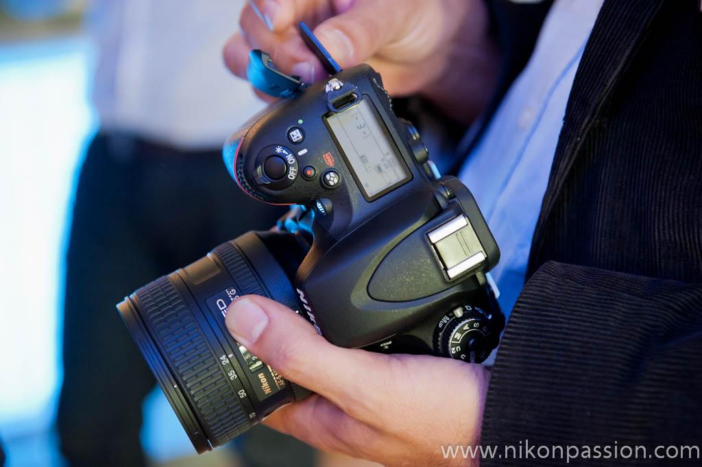 PPremier avis sur le Nikon D600 - Test du Nikon D600