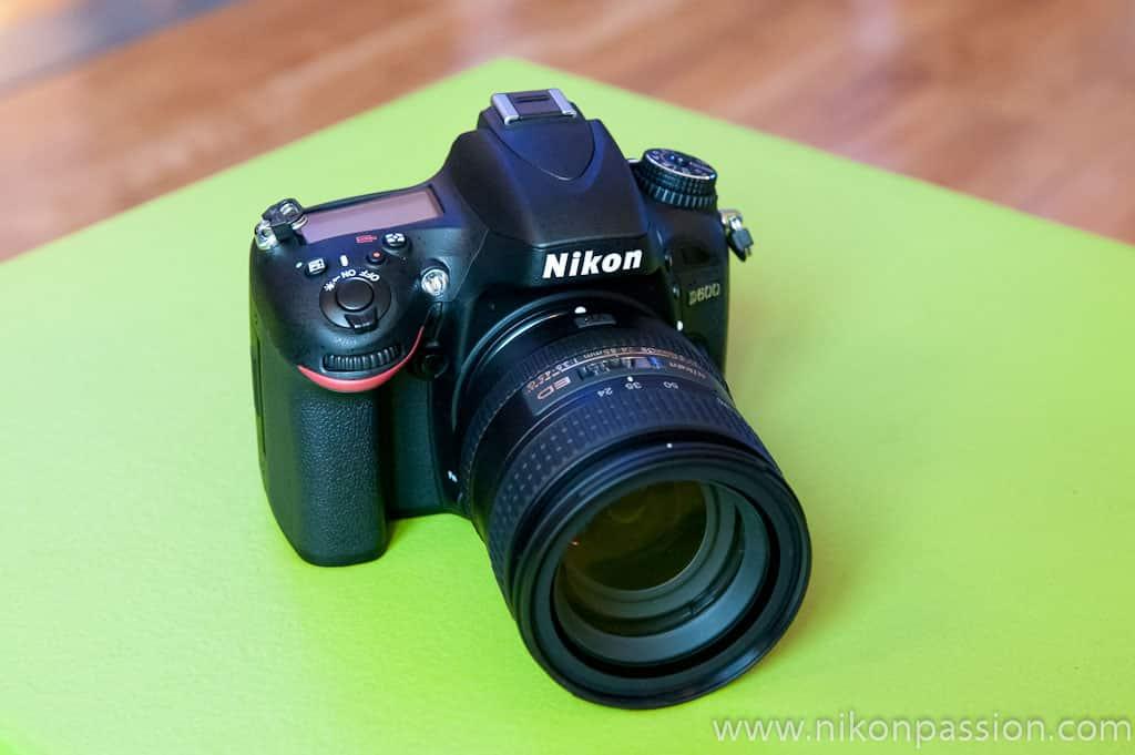 comparaison capteur avec Nikon D800, D700, D90, D7000 et Canon 5D Mark II et 5D Mark III