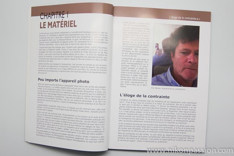 Les ateliers du photographe - l'autoportrait - éditions Pearson - Bernard Jolivalt