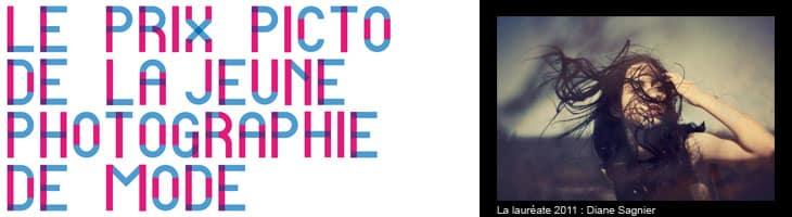 Appel à candidature du Prix Picto de la Jeune Photographie de mode 2012