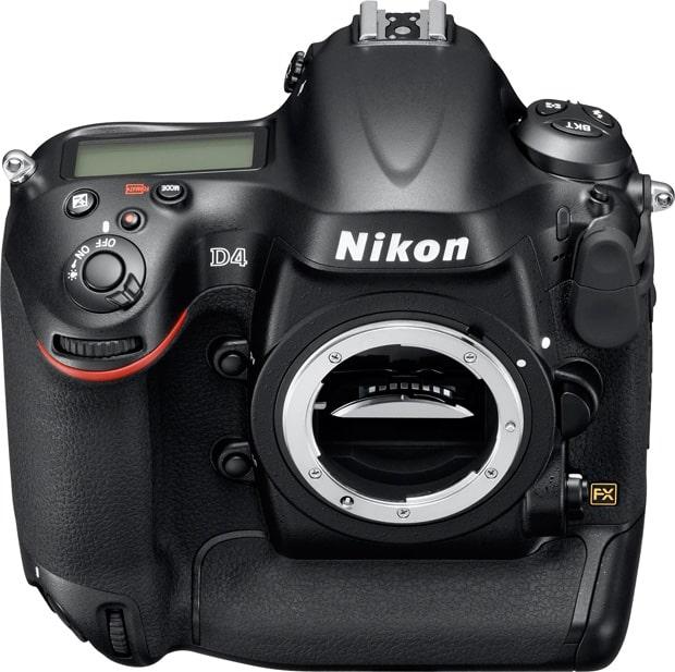 Nikon D4 mise à jour firmware version A 1.03 et B 1.02