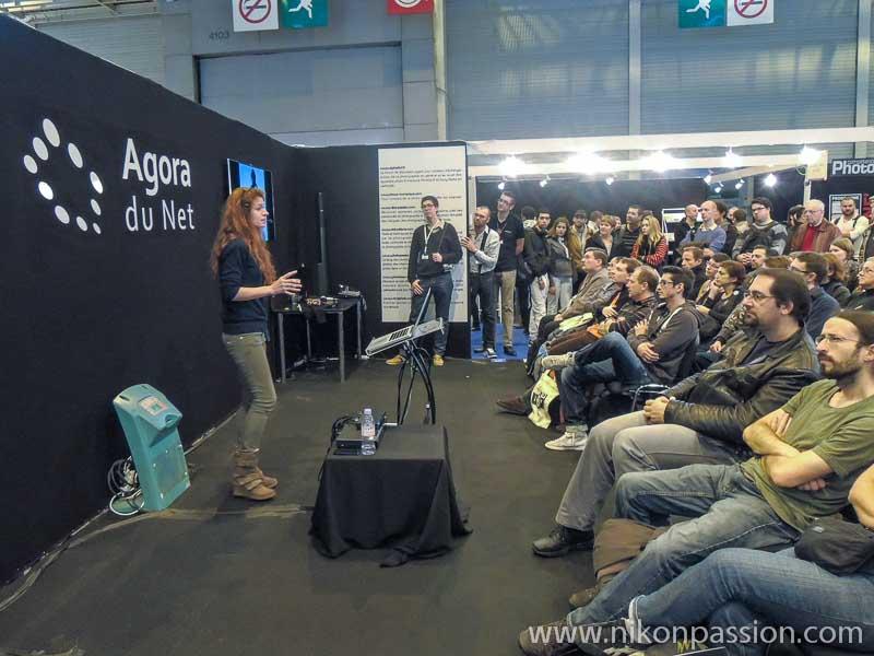 Salon de la Photo de Paris - Nikon Passion avec Nadia Wicker