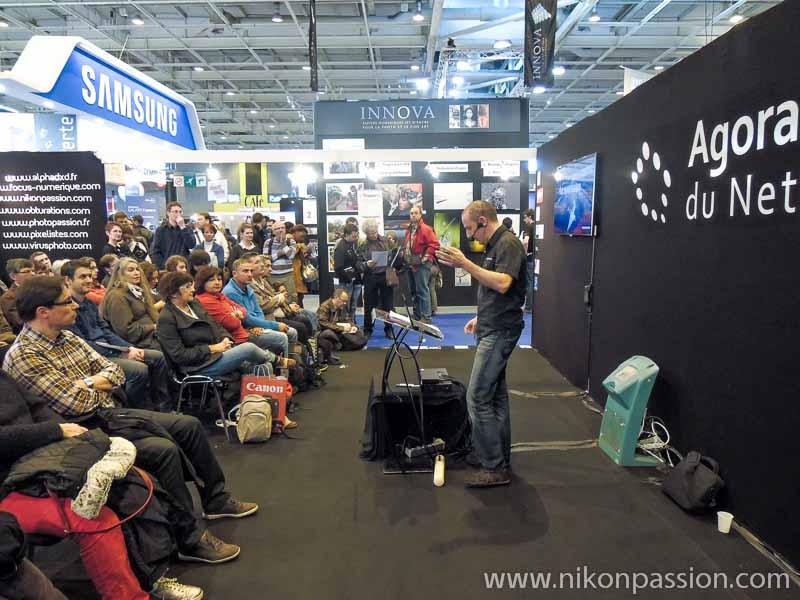 Salon de la Photo de Paris - Nikon Passion avec Patrick Dagonot