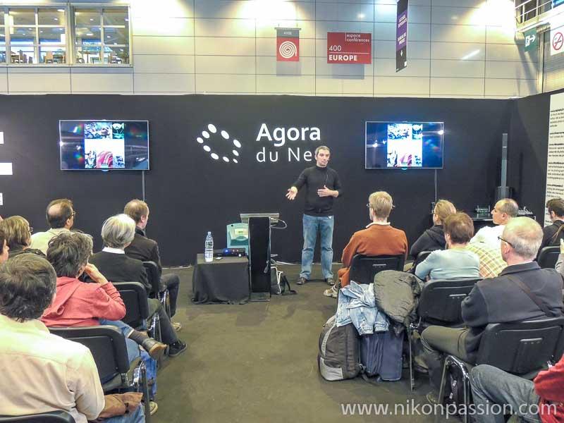Salon de la Photo de Paris - Nikon Passion avec Jérôme Geoffroy