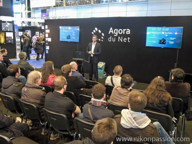 Salon de la Photo 2012 avec l'Agora du Net et Nikon Passion