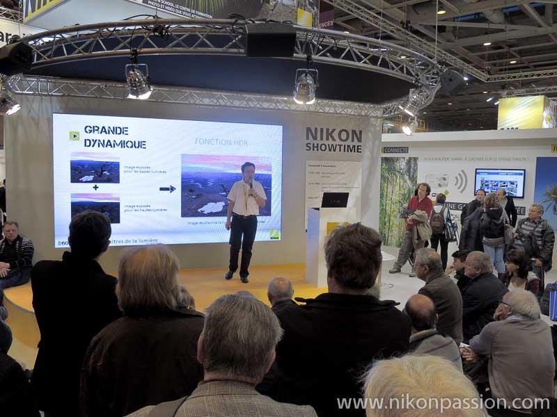 Salon de la Photo 2012 - le stand Nikon