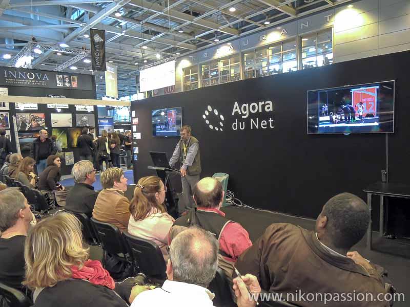Salon de la Photo de Paris 2012 - une belle fréquentation avec l'Agora du Net