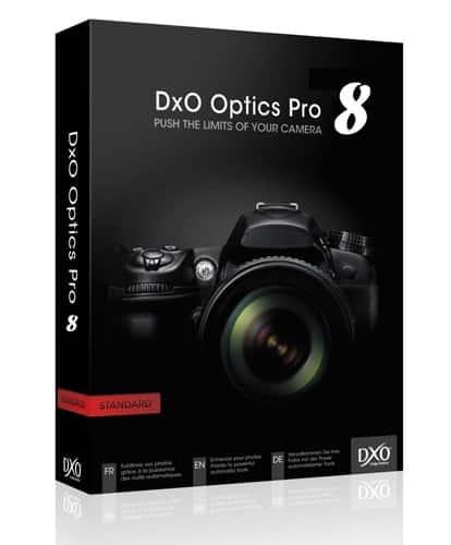 DxO Optics Pro 8.1 : nouvelles fonctions et support de nouveaux boîtiers