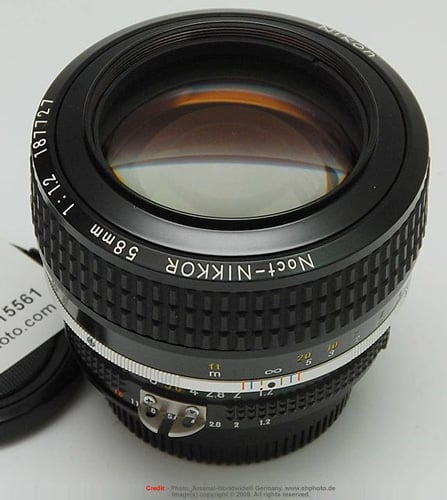Nikon Nikkor AI 58mm f/1.2 Noct