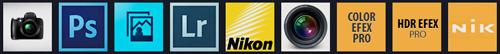 Tutoriel photo gratuit Photographie Vidéo Photoshop Elements Lightroom Nikon Capture NX2 Apple Aperture 3 Nik Software