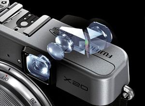 Fujifilm X20, viseur optique, 12Mp, capteur X-Trans et 28-112mm pour 549 euros