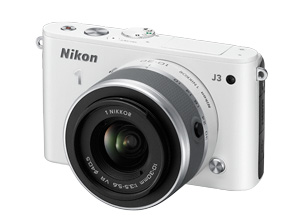 Nikon 1 J3 blanc