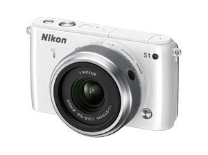 Nikon 1 S1 blanc